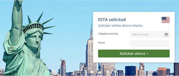 formulario ESTA