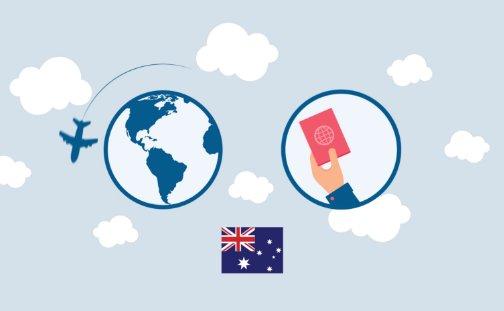 Miniatura de un vídeo con información sobre la solicitud de visado