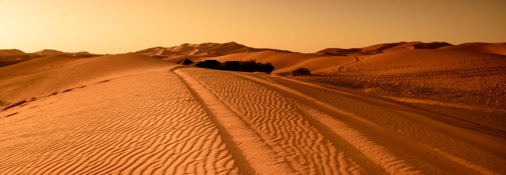 Desierto en Egipto