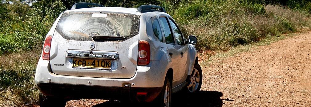 Alquilar un coche en Kenia