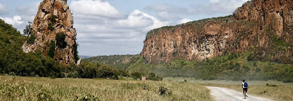 Hells Gate en Kenia